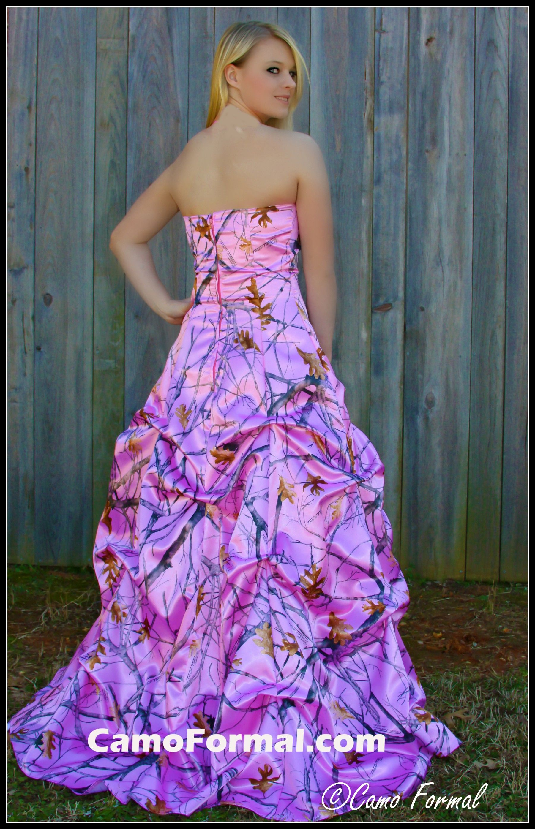 camo prom dresses | ... Oak New Breakup Attire Camouflage Prom ...