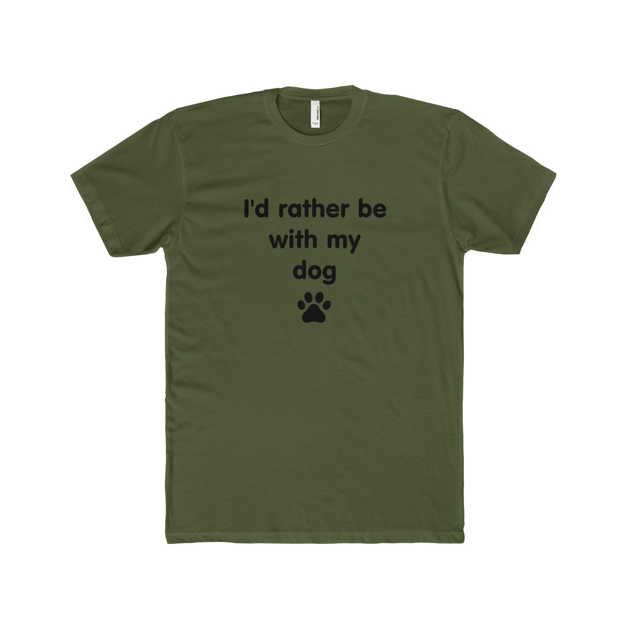 RATHER BE WITH MY DOG - Tee