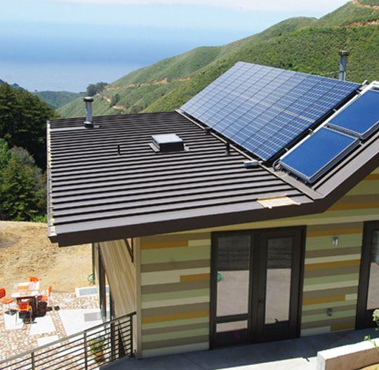 Omd Big Sur Prefab Modern Prefab Homes Prefab Homes Solar Panels