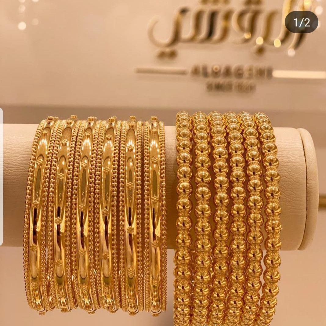 Bangles Bracelet Costume Jewellery karah setof2 Indian Pakistani Bollywood Churi