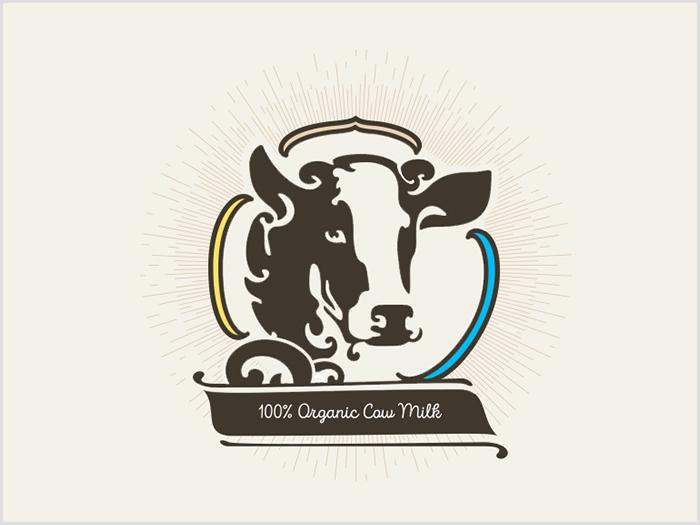 30 Creative Dairy Logo Designs For Inspiration 2019