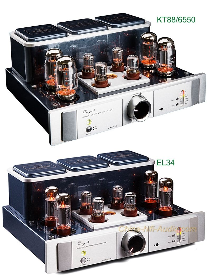 Cayin A-88T MK2 tube EL34/KT88/6550 Integrated amplifier