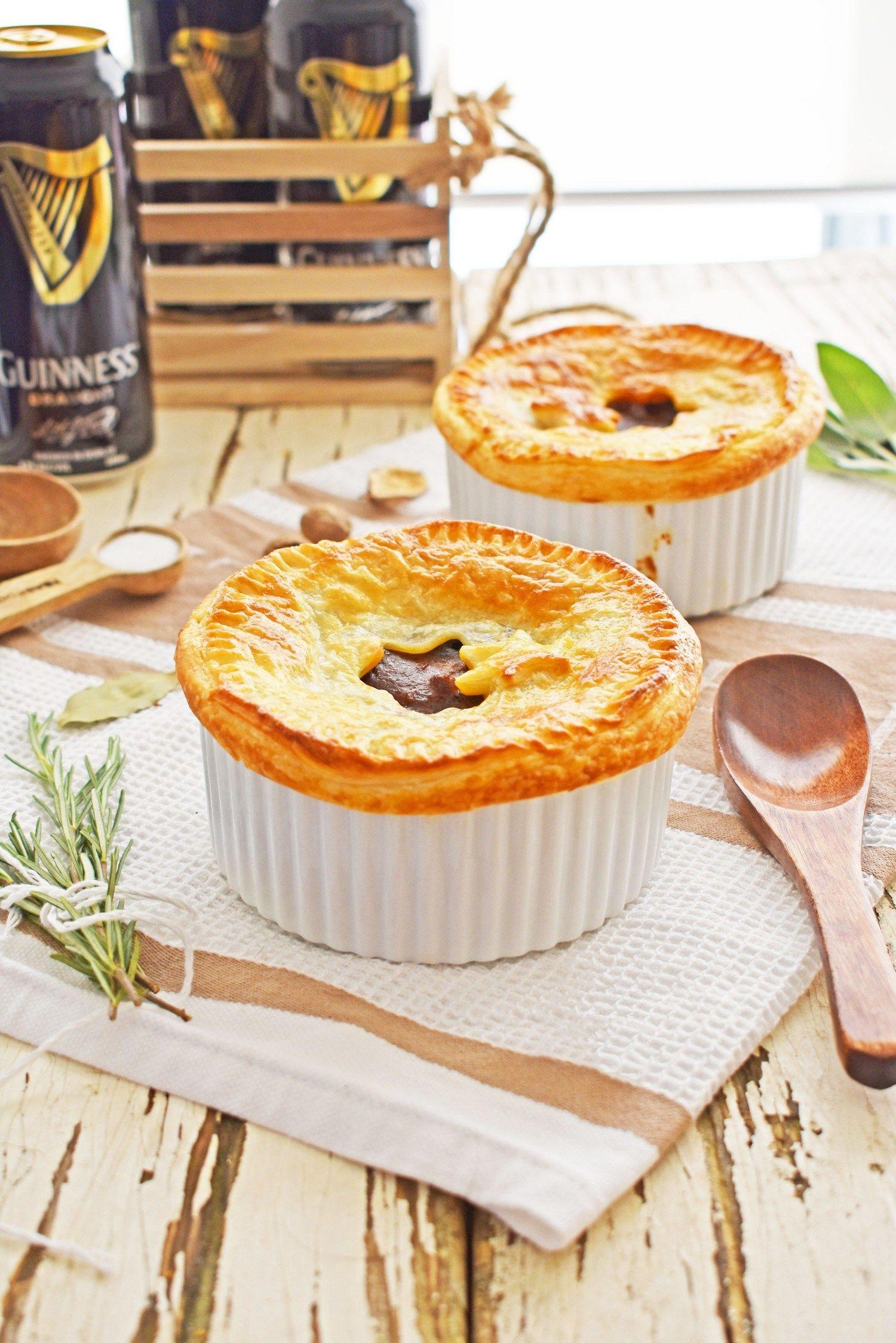Pressure Cooker Steak and Guinness Pot Pies | Recipe ...