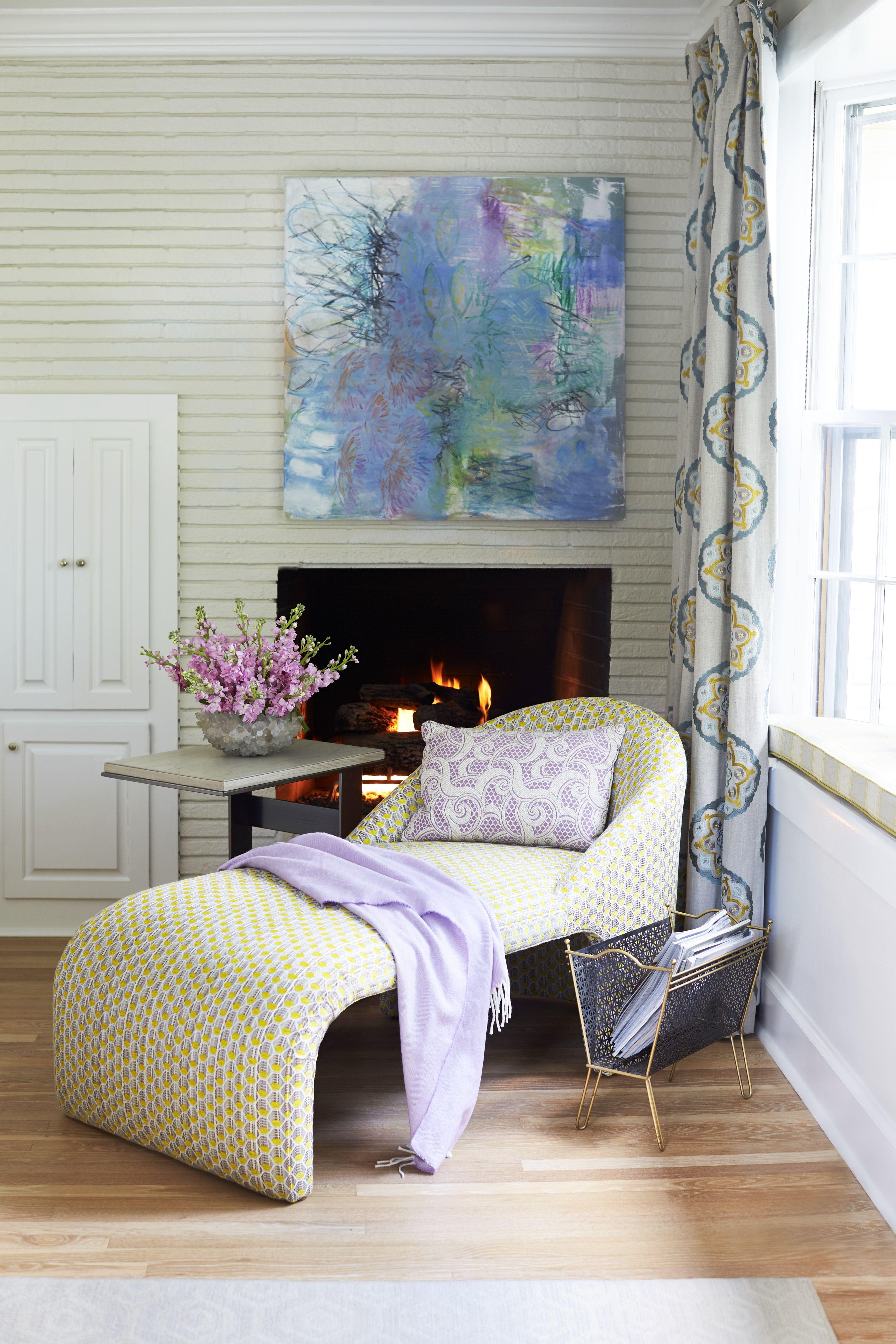 Mid Century Modern Bedroom Nook Bedroom nook, Living