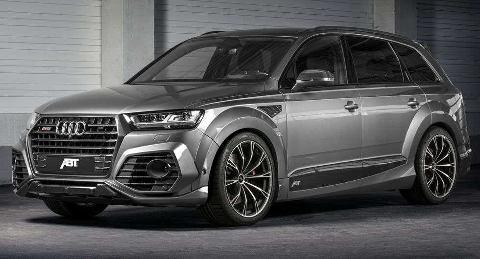 New Audi Sq7 Gets The Works From Abt With 520 Horses Cars Audi