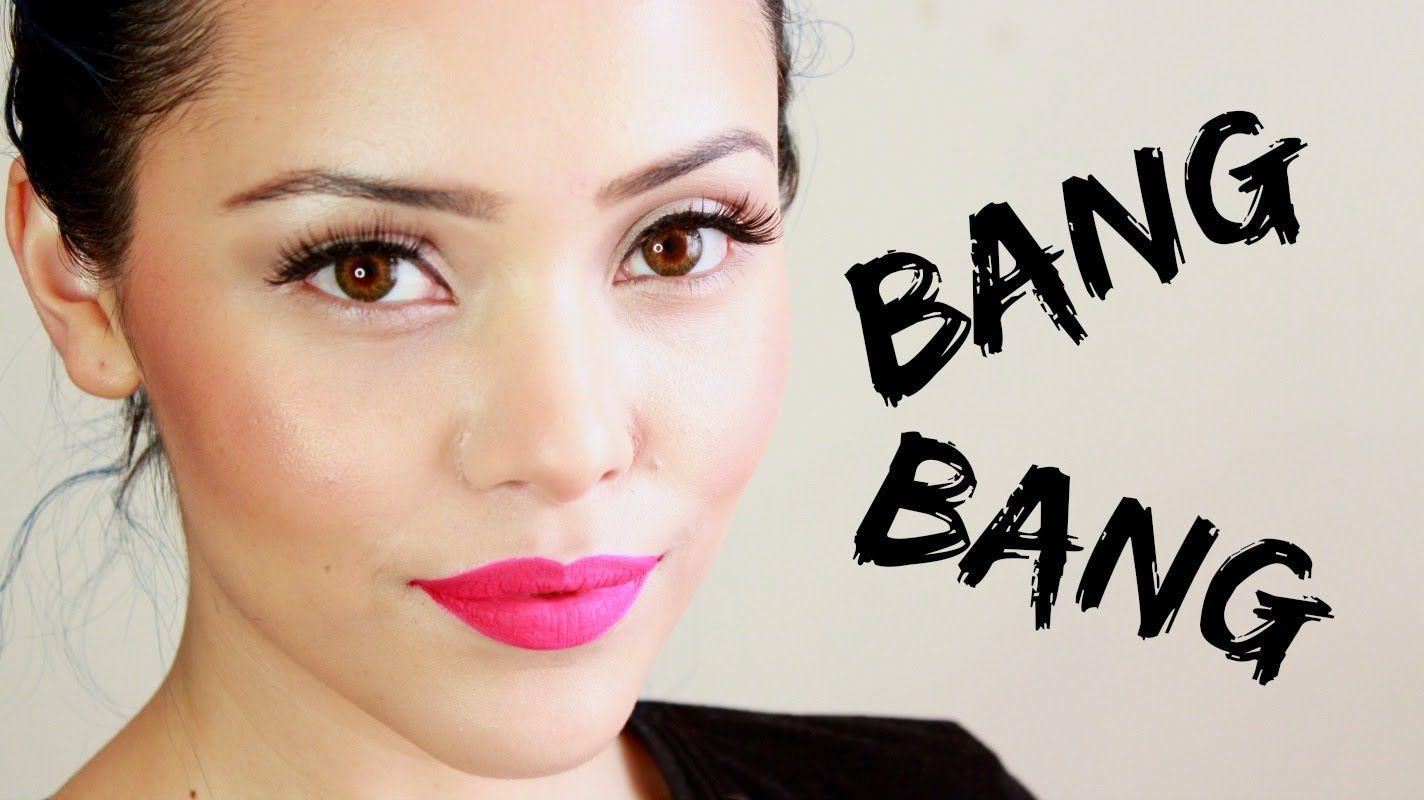 Jessie J Bang Bang, maquillaje inspirado