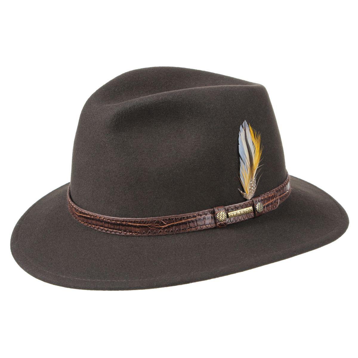 Sombrero de lujo con el exclusivo tejido de lana VitaFelt. Es 100%  repelente al agua y a la suciedad (incluido el aceite). Tiene un tejido  suave y es ... fb626efc5ef