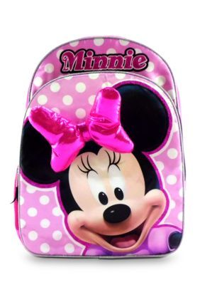 Disney  Minnie Mouse 16-in. Backpack with Bow