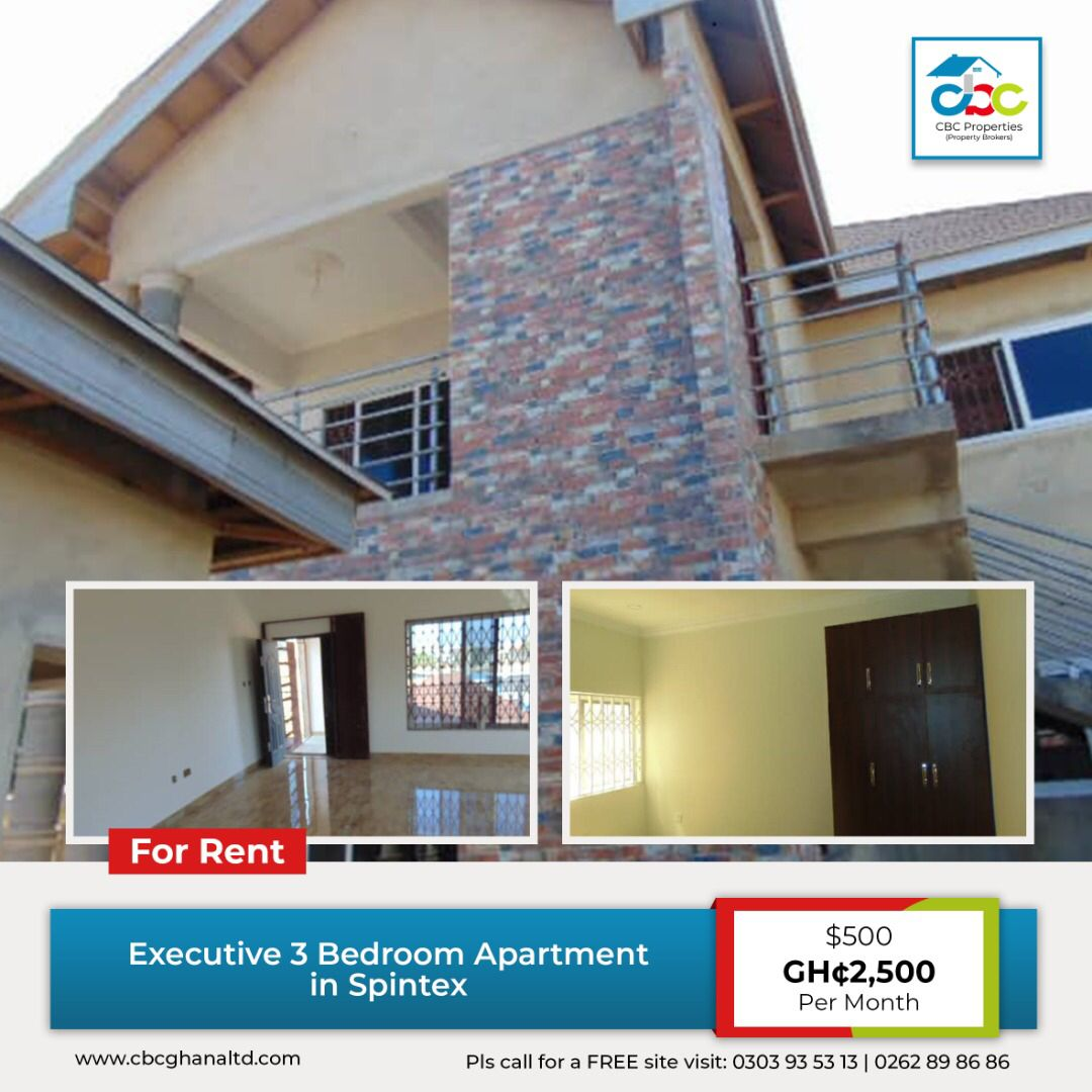 500 Ghc2500 Per Month This Spectacular newly built 3