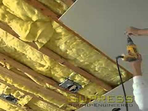 How to Soundproof Ceilings   Soundproofing   Pinterest   Ceilings ...
