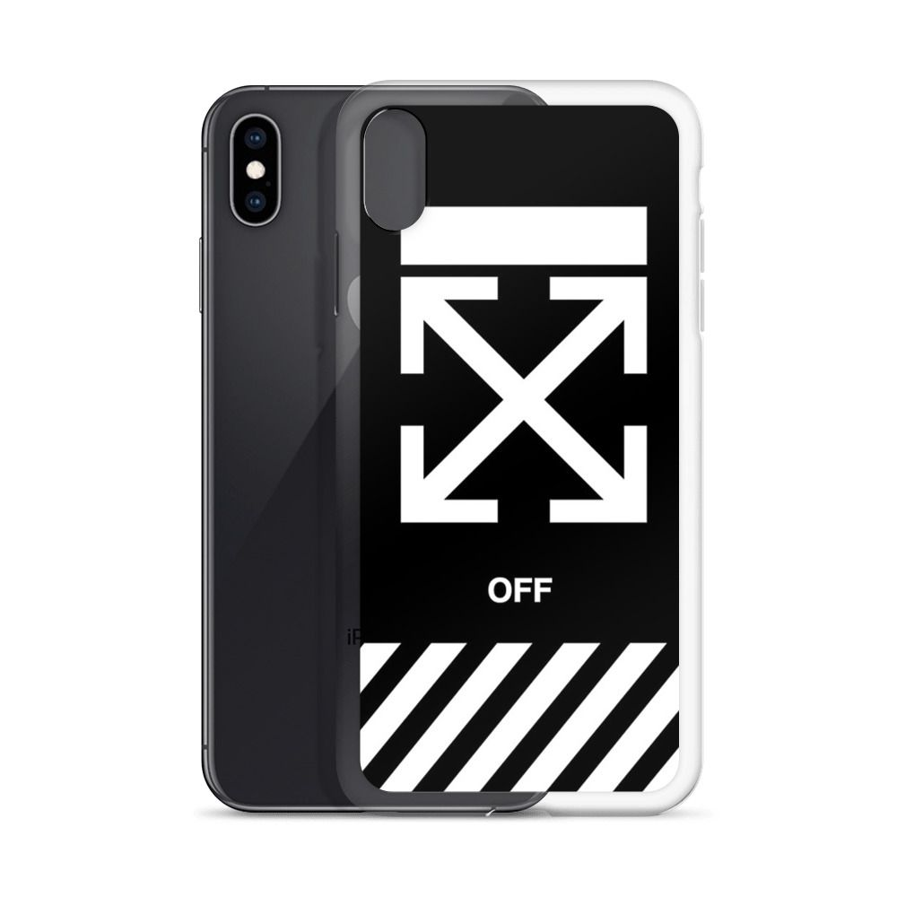 Off White Cross Custom Iphone X Case Iphone Xs Iphone Xr And More White Crosses Iphone Cases Iphone