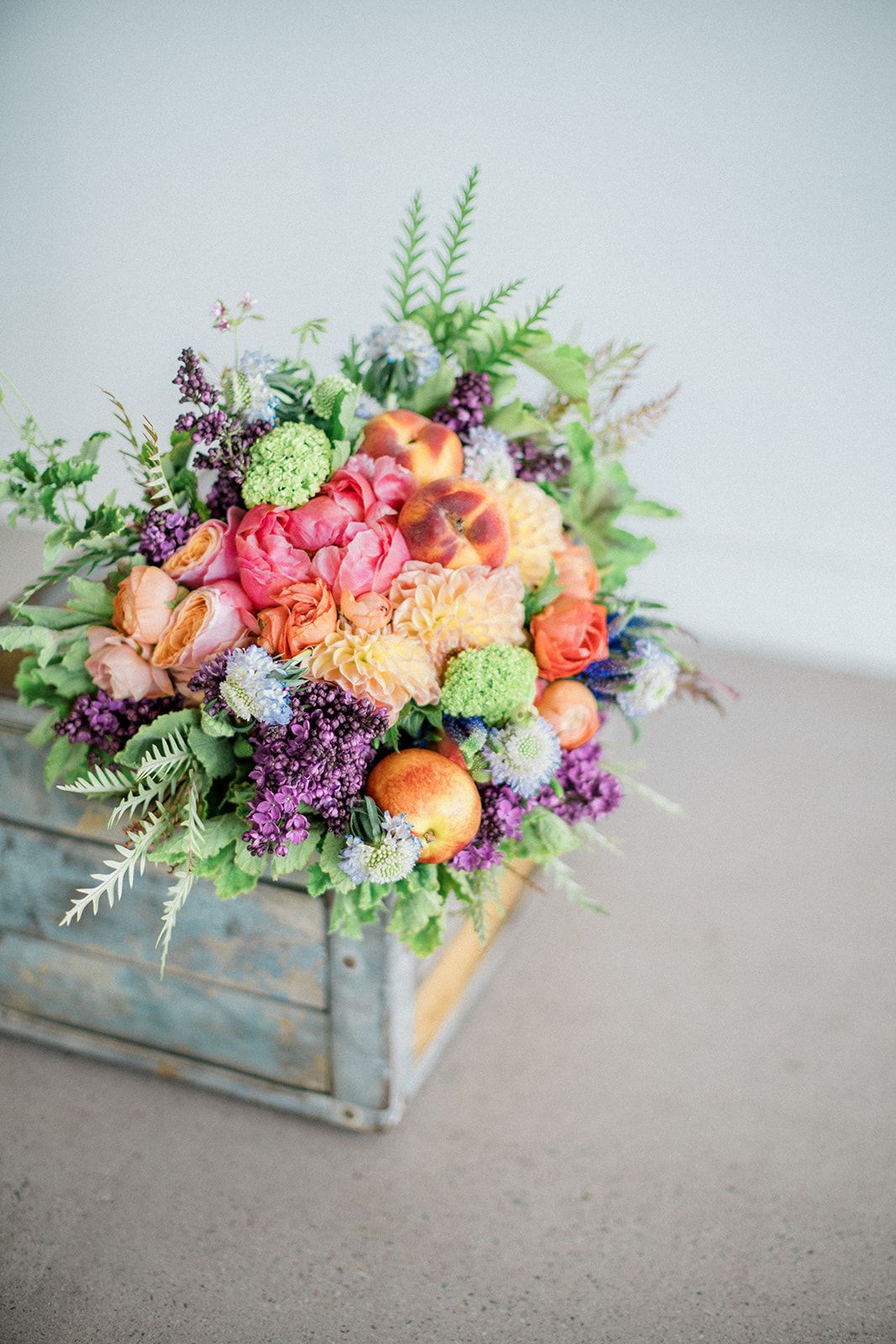 a summer inspired farmer's market wedding | event floral
