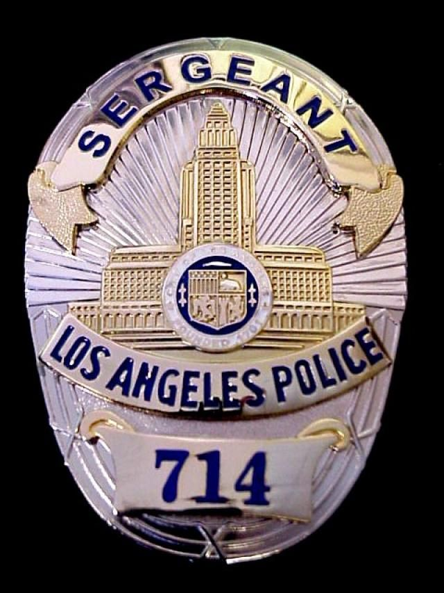 Los Angeles Police Badge | Collector's Badges - Movie Badges