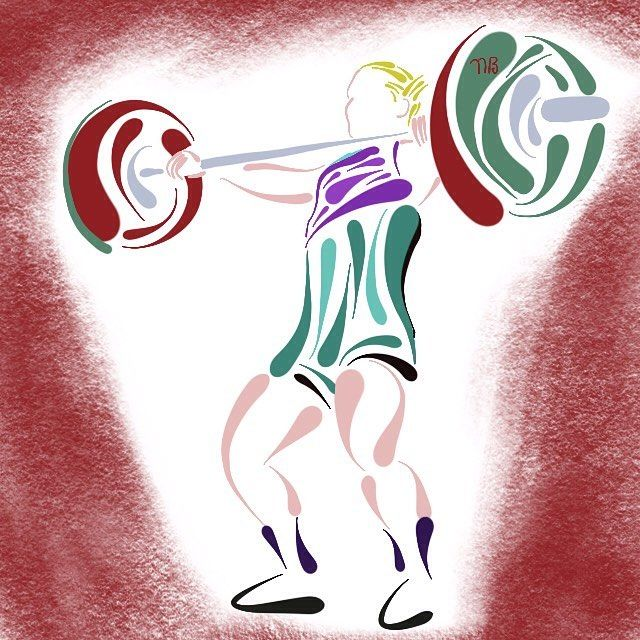 Crossfit Drawing Sketch