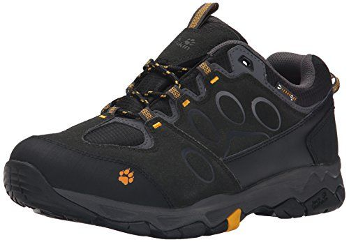 Jack Wolfskin Mens MTN Attack 5 Texapore Low Waterproof Shoes Burly Yellow  10    Details b4d329d2bc5