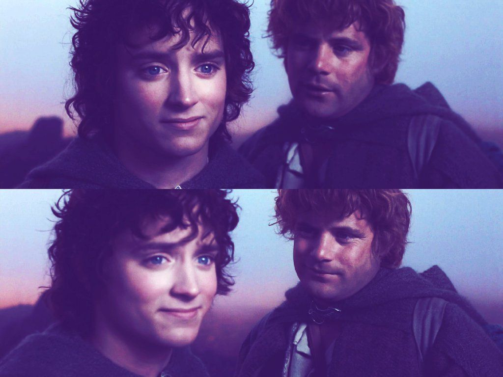 frodo and sam the greatest friendship in all of literature