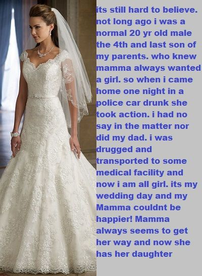 Pin by Cassidy Alexis on Bridal, Sissy Bride Captions & et cetera