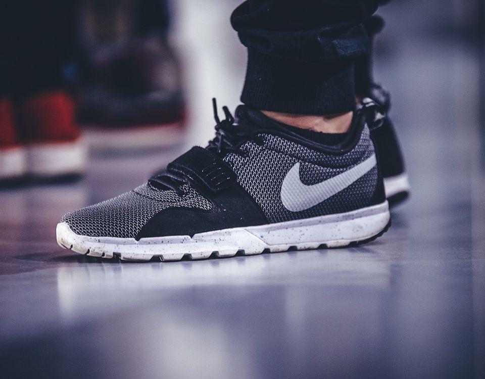 "Nike SB Trainerendor ""Black/Metallic Silver"""