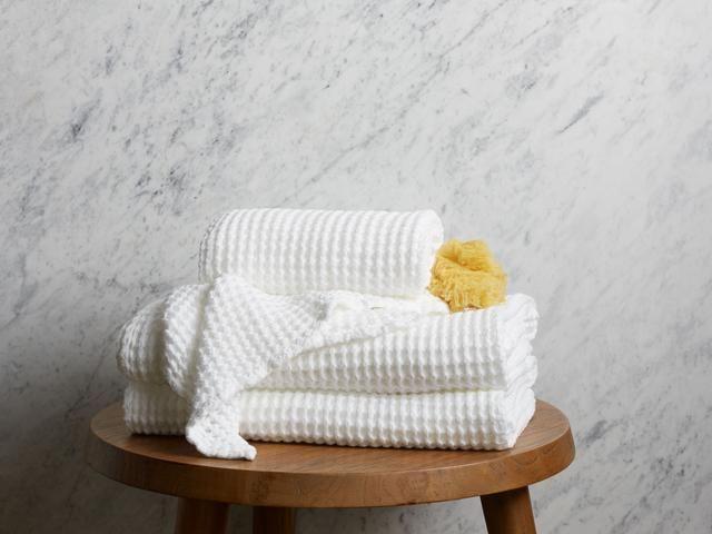Waffle Towels parachute home