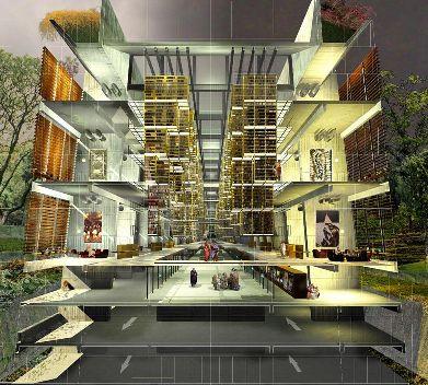 projeto 2 - Nova biblioteca nacional do méxico