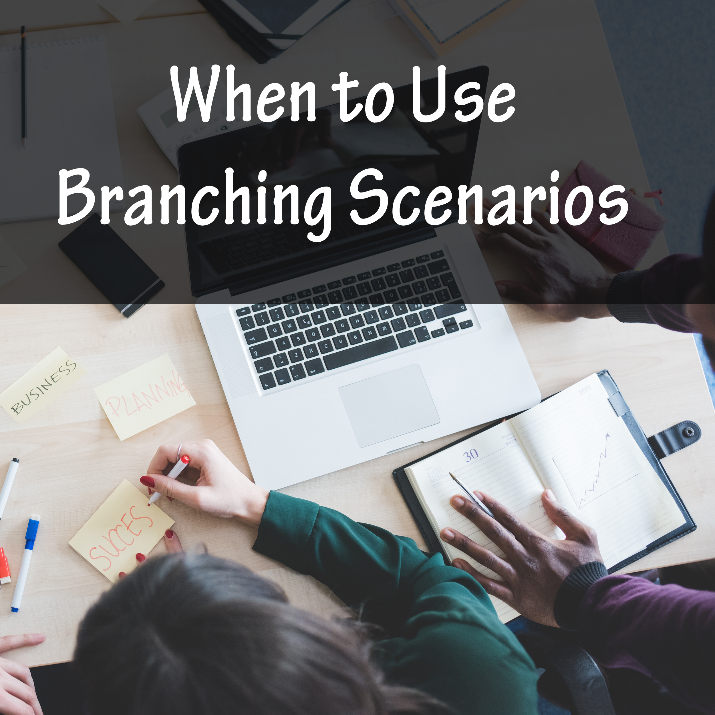 When To Use Branching Scenarios Make business, Group