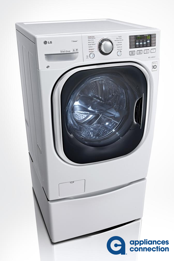 Lg Washer Wm3997hwa Ventless 4 3 Cu Ft Capacity Steam Washer Dryer Combination With 27 Lg Laundry Room Sink Cabinet Laundry Room Sink Laundry Room Storage