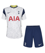 20 21 Tottenham Hotspur Home White Soccer Jerseys Kit Shirt Short In 2020 Soccer Jersey Tottenham Hotspur Tottenham