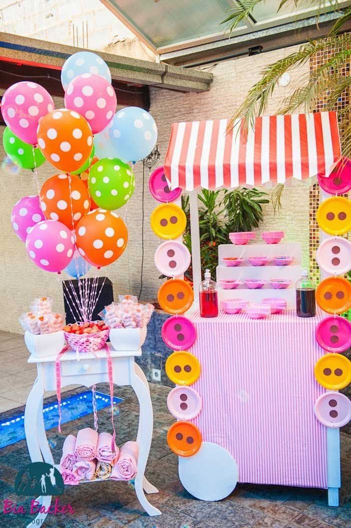Lalaloopsy Themed Birthday Party Styling Decor Planning Ideas Lalaloopsy Party Birthday Party Themes Birthday Parties