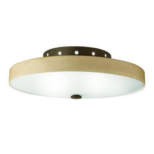 Kichler 10413OZ Kichler 10413OZ Ceiling Mt 2Lt Fluorescent in Olde Bronze. ENERGY STAR qualified light fixture