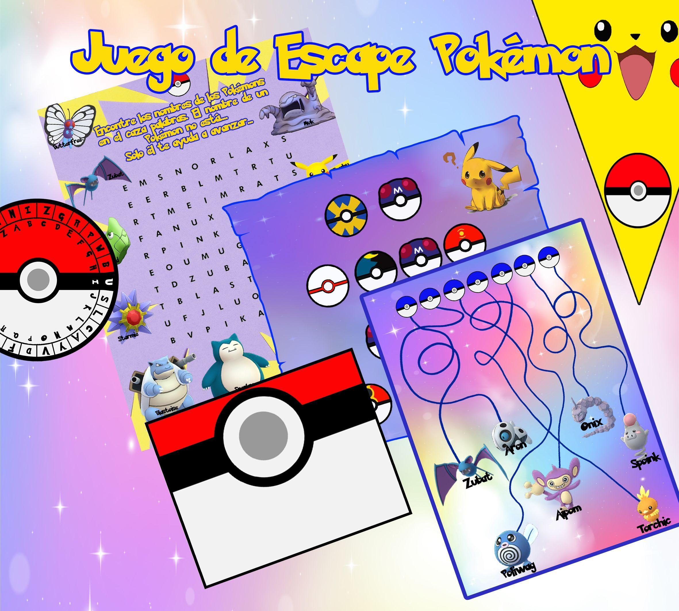 Una Aventura De Caza Al Pokémon En Escape Room Una Gran Diversión Para Niños Y Familia Disadvantage Buena Parte Environn Pokemon Pokemon Go Escape Room