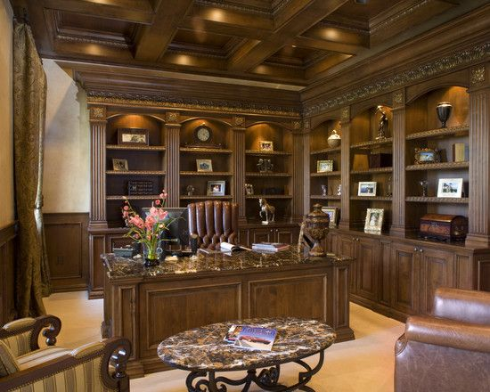 Library Room Luxury Man Cave