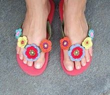 Gotta make me a pair or two of these for the summer!      ♪ ♪ ... #inspiration_crochet #diy GB