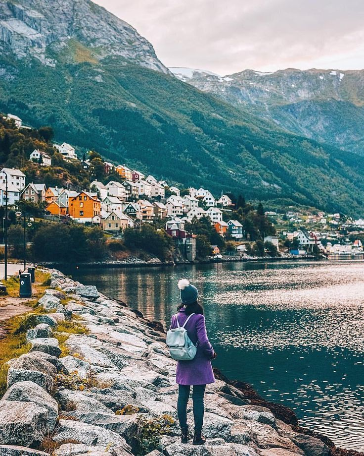 Photographic Interpretations Of Norways Trolltunga http