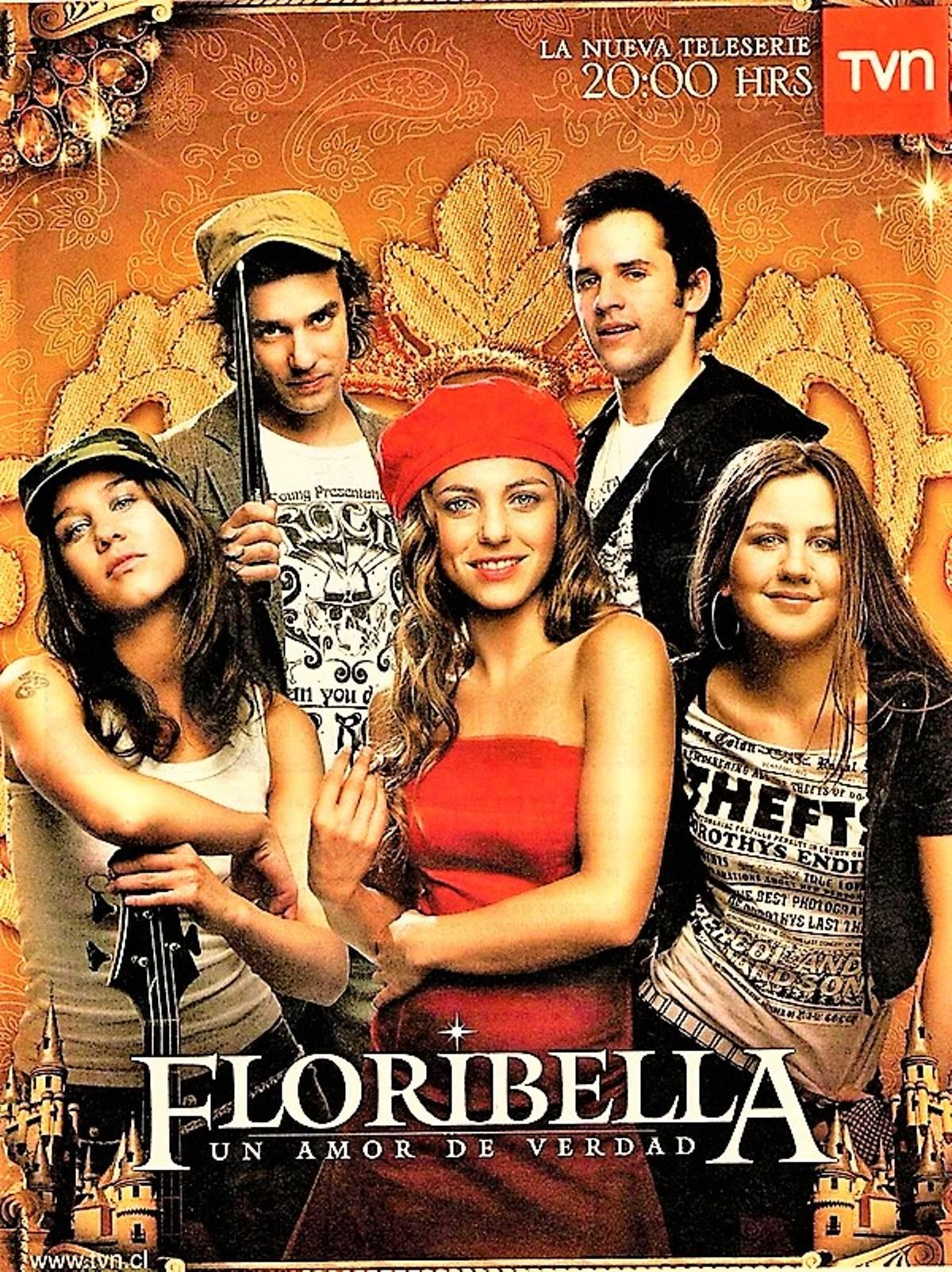 Floribella 2006 07 Tvn Tv Chile Series Y Peliculas Telenovela Actores