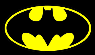 Batman Bat Signal Black Yellow Batman Cartoon Batman Superhero Batman