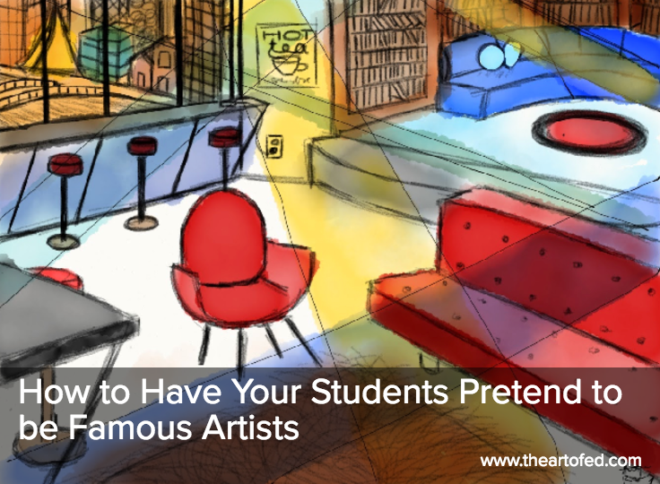 Photo of How to Have Your Students Pretend to be Famous Artists – The Art of Education University