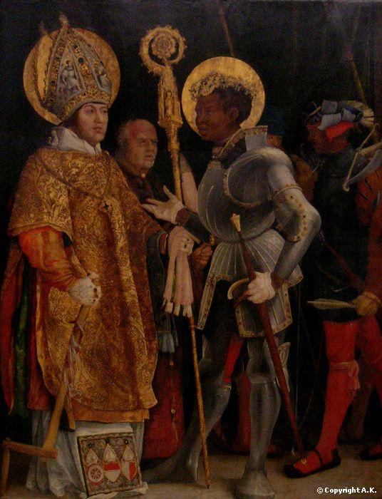 Saint Erasme et saint Maurice Matthias Nithard (Matthias Grünewald)