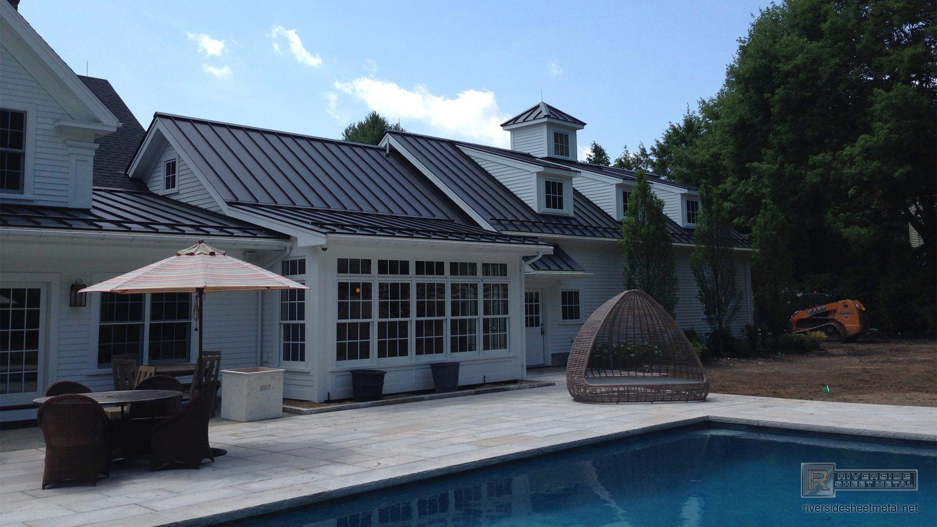 Best Matte Black Metal Roof Matte Black Aluminum Roofing With 640 x 480