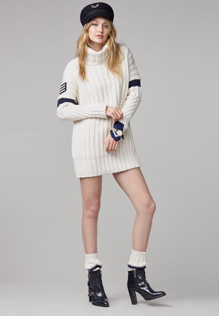 8179926473c Tommy Hilfiger GIGI HADID - Jumper dress - white for £249.99 (14/09 ...