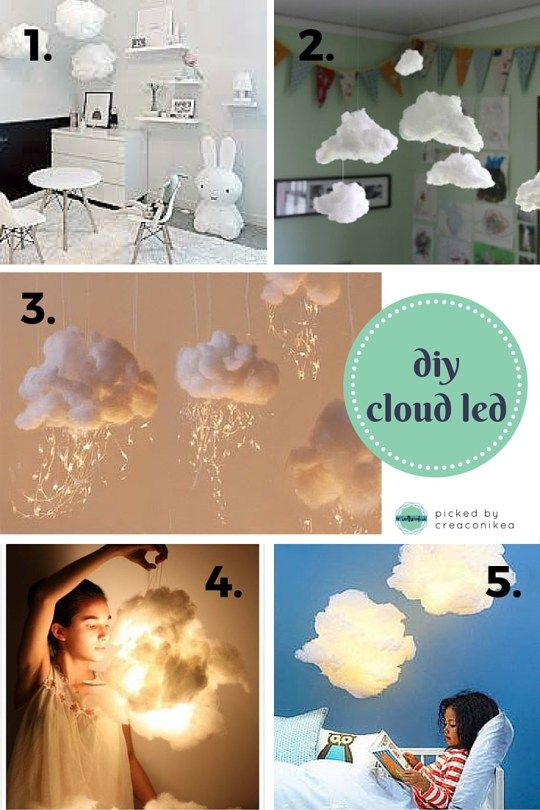 FAI DA TE: LAMPADA A FORMA DI NUVOLA | HOW TO: DIY CLOUD ...