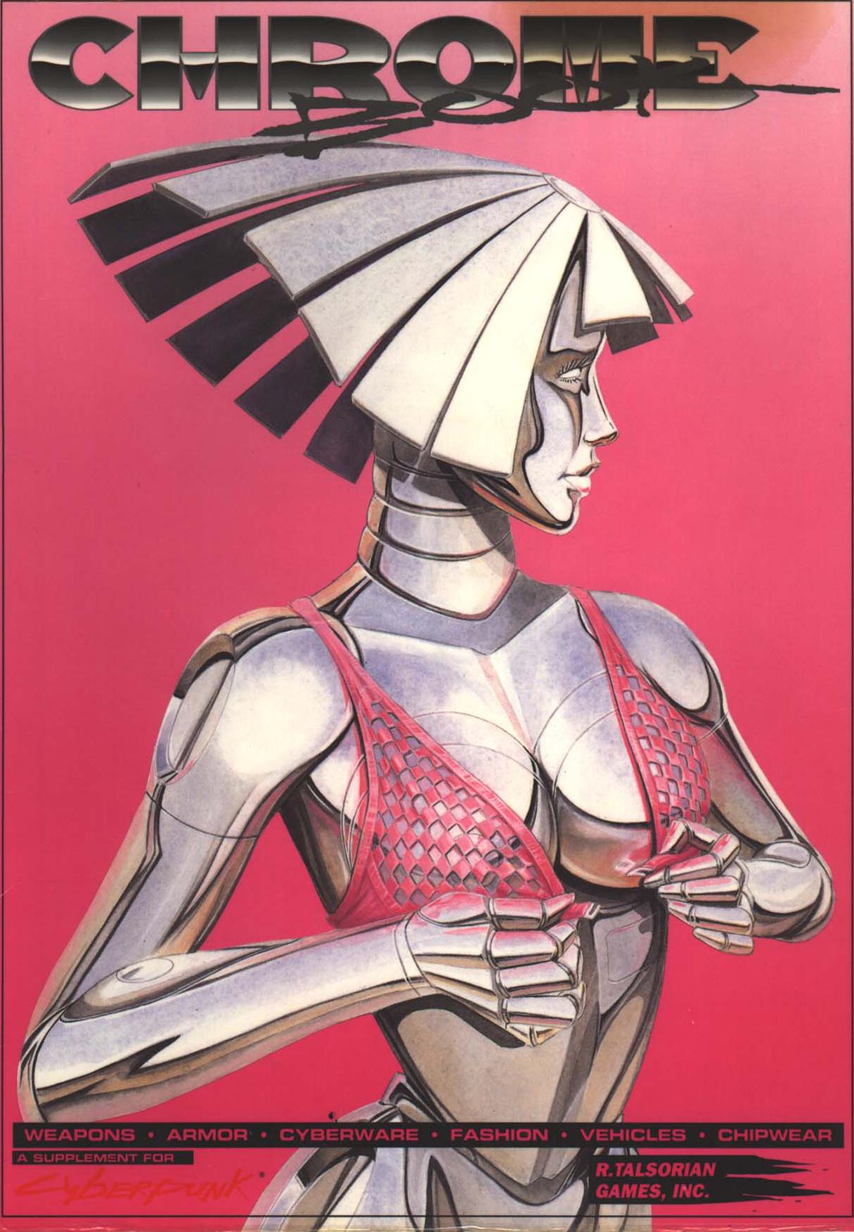 Cyberpunk Chrome Book R Talsorian Games (1991