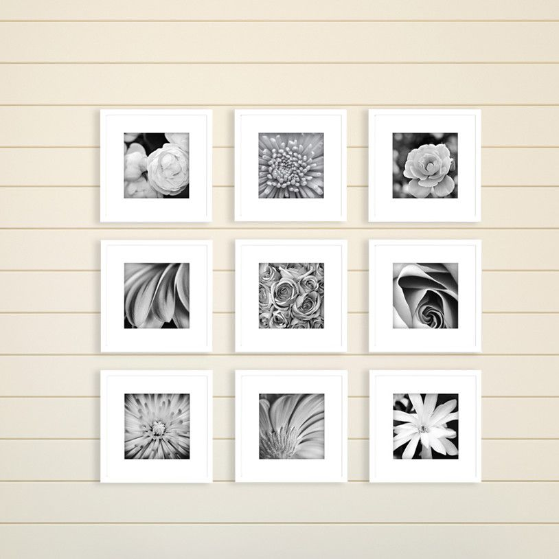 Gallery Perfect 9 Piece Picture Frame Set | Products | Pinterest ...