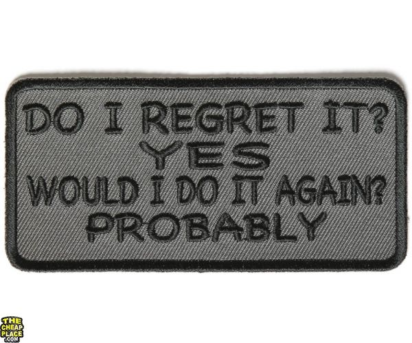 Dont Hate Me Because I Sin Differently Than You Sew or Iron on Patch Biker Patch