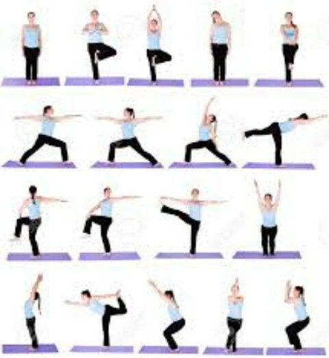 Diferentes tipos de posiciones de yoga para principiantes  1156bfabbdfc