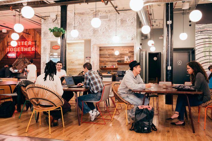 A Tour Of Wework Holyoke Beautiful Office Spaces Beautiful Office Office Interiors