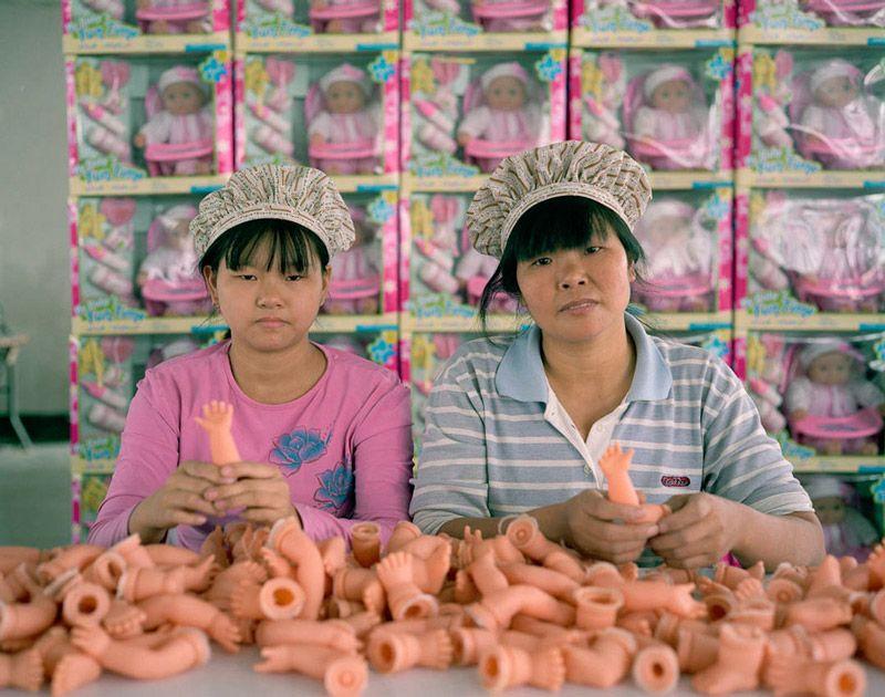 現實世界中的聖誕禮物工廠,玩具工廠攝影集   大人物