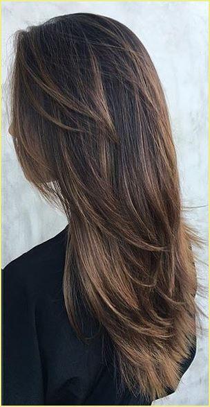 Mittellange Haare Braun Balayage Hair Styles Long Hair Styles Long Layered Hair