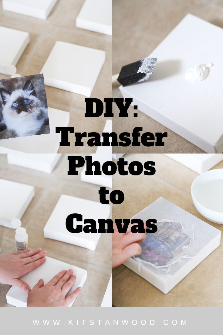 How To Transfer Photographs To Canvas For A Vision Board Canvas Photo Transfer Crafts To Make And Sell Crafts