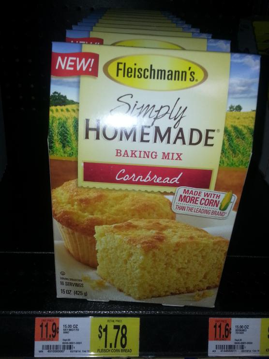 New Fleischmann's Simply Homemade Baking Mix Coupon Means