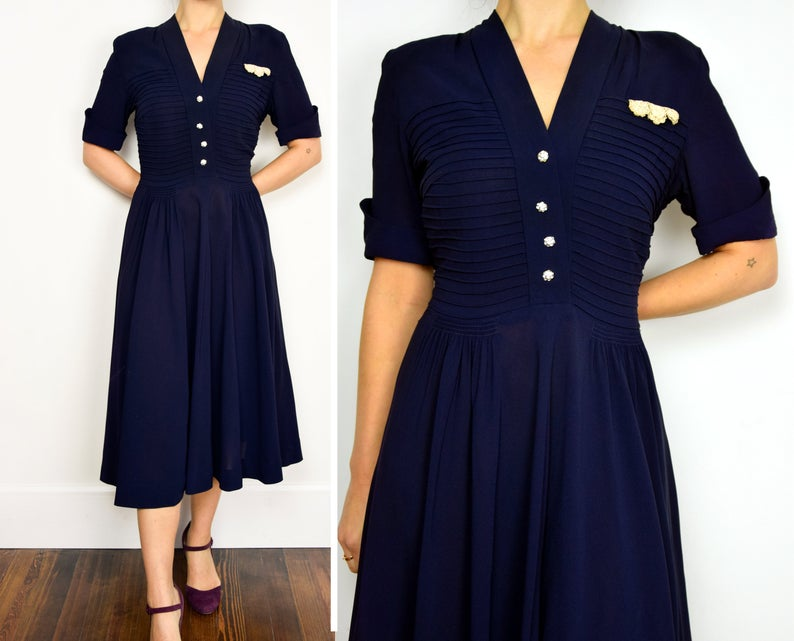 Your place to buy and sell all things handmade #navyblueshortdress